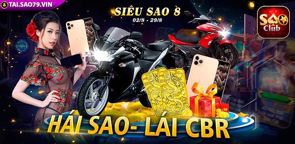 Giftcode game bài Sao Club 2/8/2020: Siêu Sao 8 chính thức khởi tranh