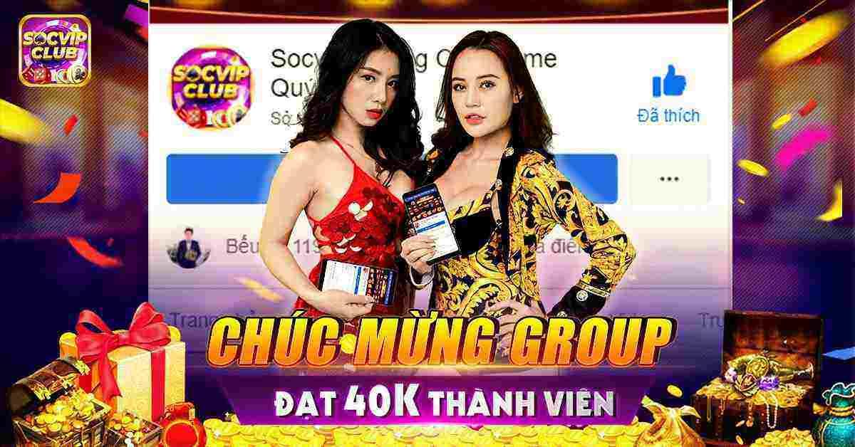 SocVip Club giftcode game 19/8/2020: Tặng Code chúc mừng Group đạt 40k Mem