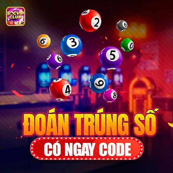 Giftcode game bài SocVip Club 5/8/2020: Đoán trúng số – Có ngay Code
