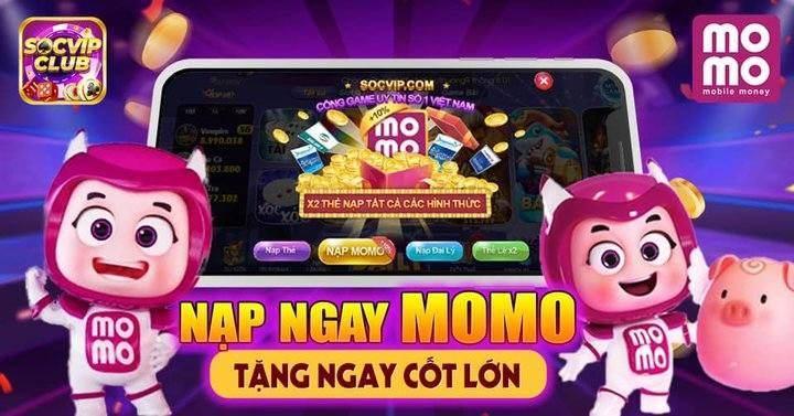 Giftcode game bài SocVip Club 9/8/2020: Nạp ngay Momo – Tặng ngay Code lớn