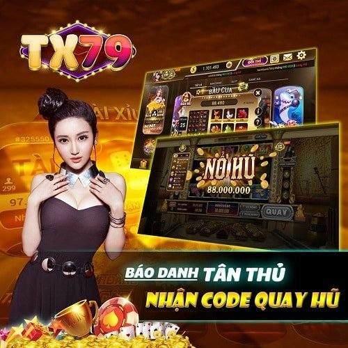 TX79 Club giftcode game 20/8/2020: Báo danh Tân Thủ – Nhận Code quay hũ