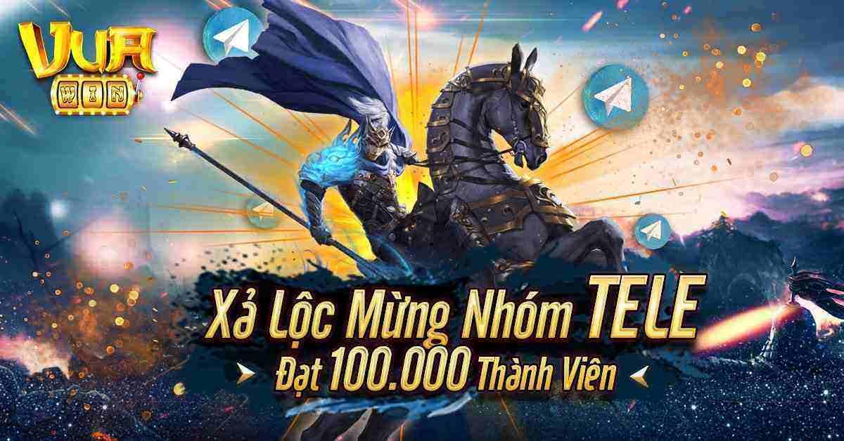 Giftcode game bài Vua Win 8/8/2020: Xả Lộc mừng nhóm Telegram đạt 100k Mem