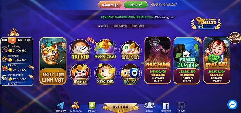 Hely Win | Hely Vin – Chơi game nổ hũ đổi thưởng, săn thẻ lộc phát