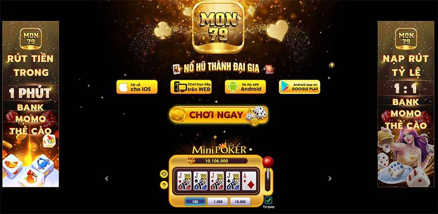 Mon79 Club | Mon79 Net – Cổng Game Quay Hũ Đánh Bài Ăn Tiền Thật Uy Tín