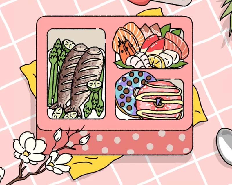 Set Cá chiên - Sashimi - Donut hấp dẫn