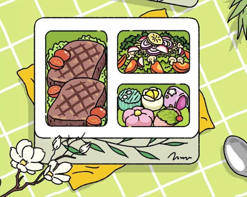 Set đồ Thịt bò tiêu - Salad vô cùng hấp dẫn