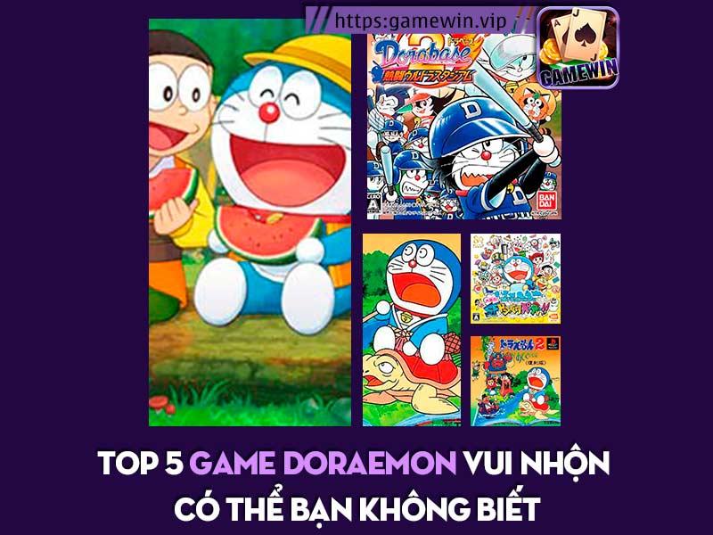 Top 5 game Doraemon vui nhộn cực hay có thể bạn chưa biết