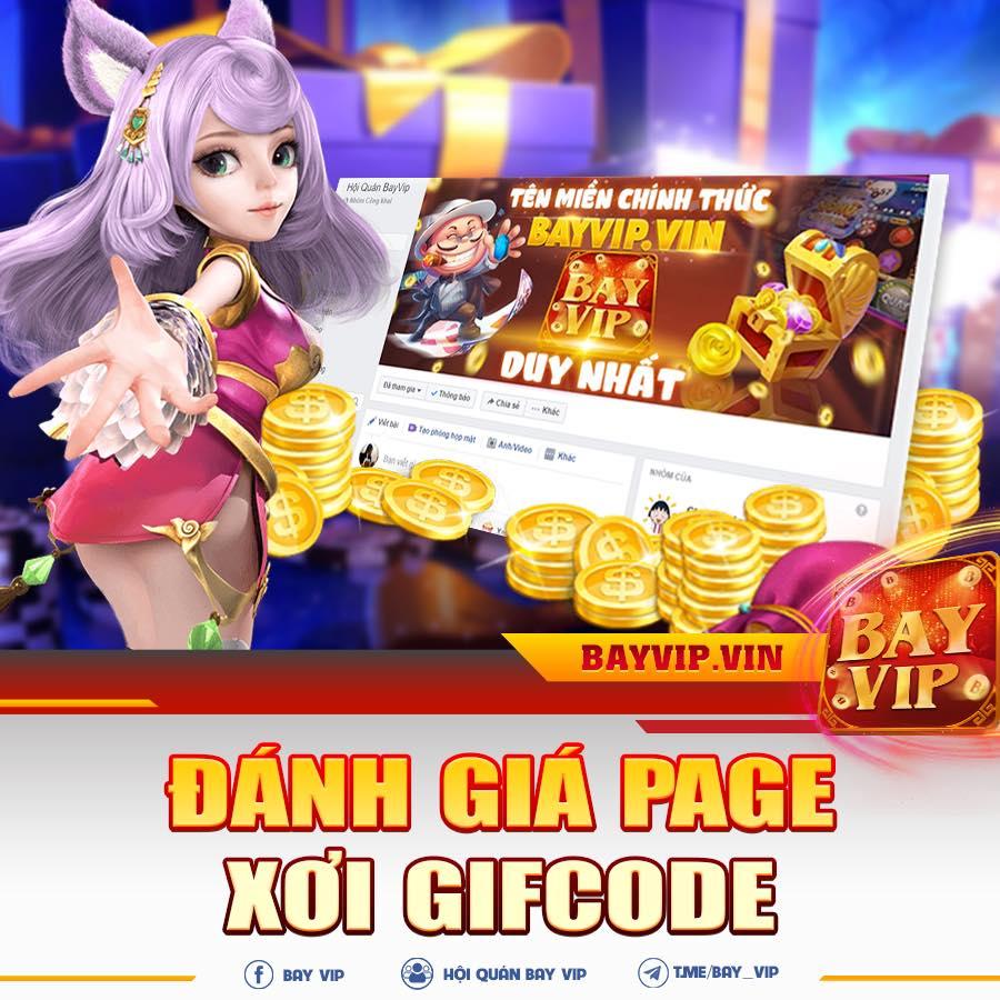 BayVip giftcode game 6/9/2020: Đánh giá Page – Xơi GIFTCODE