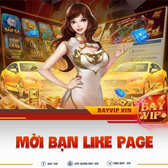 BayVip giftcode game 8/9/2020: Mời bạn like Page – Nhận Code liền tay