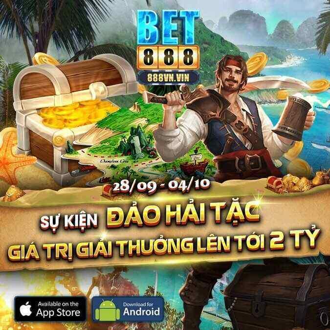 Bet888 Club giftcode game 29/9/2020: Đua Top kho báu – Hứng Lộc triệu đô