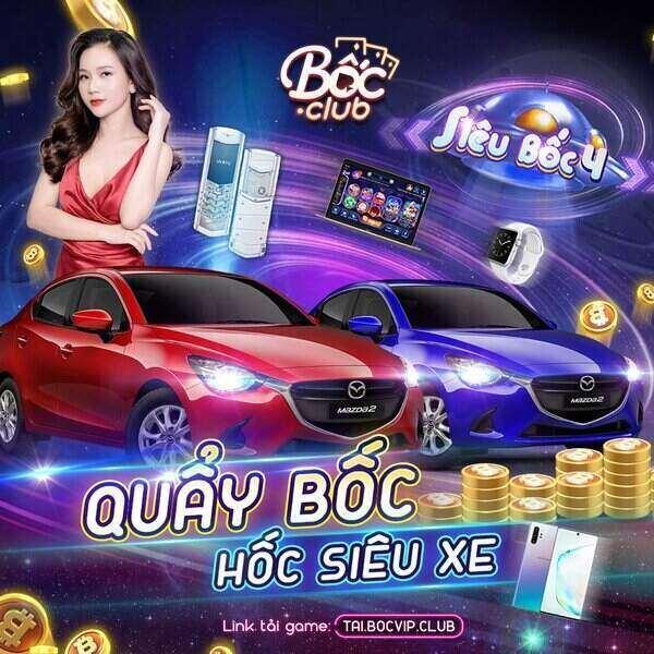 Bốc Club giftcode game 30/9/2020: Sự kiện tháng 10 – Quẩy Bốc hốc siêu xe