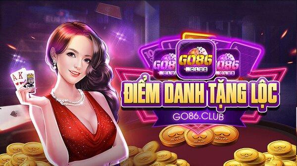 Go86 Club giftcode game 21/9/2020: Điểm danh tặng Lộc