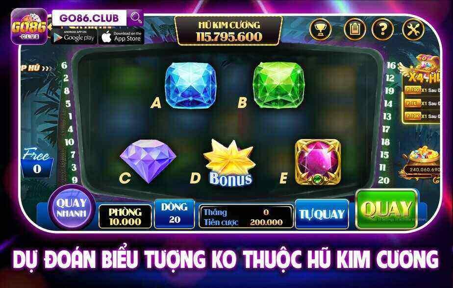 Go86 Club giftcode game 25/9/2020: Dự đoán biểu thưởng – Nhận Lộc siêu đã