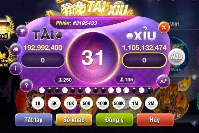 King Fun giftcode game 8/9/2020: Tán Lộc cho anh em chơi Tài Xỉu