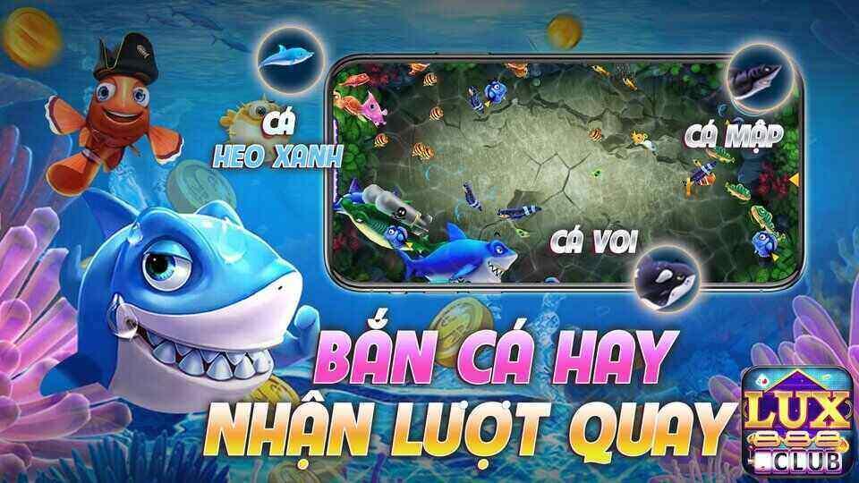 LuxClub giftcode game 14/9/2020:  Bắn Cá thêm lượt – Chia sẻ nhận Code