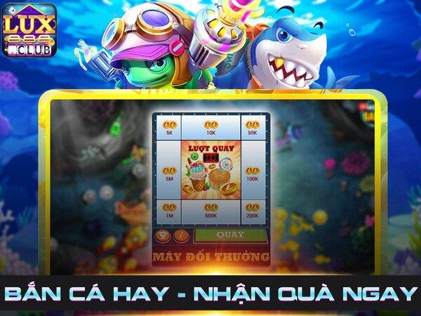 LuxClub giftcode game 25/9/2020: Sự kiện Thần Biển – Bắn Cá nhận GIFTCODE