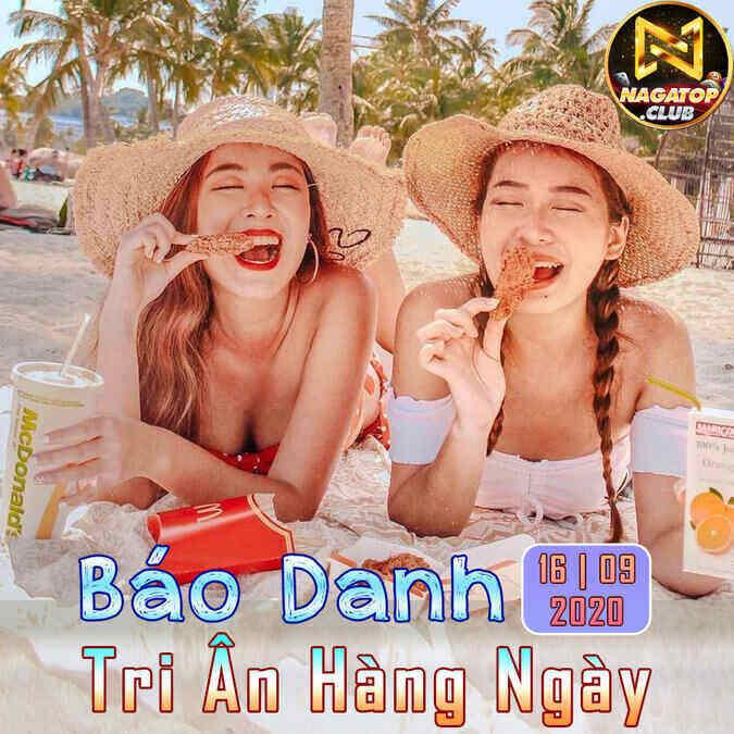 NagaVip Club giftcode game 16/9/2020: Báo danh Tri Ân hàng ngày 16/09