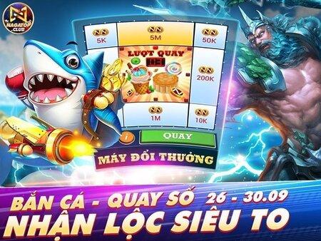 NagaVip Club giftcode game 25/9/2020: Bắn cá quay số – Nhận Lộc siêu to
