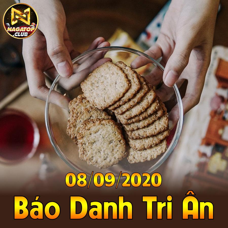 NagaVip Club giftcode game 8/9/2020: Báo danh Tri Ân hàng ngày 08/09