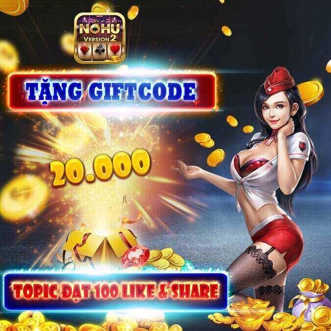 Nổ Hũ 39 giftcode game 12/9/2020: Xả kho GIFTCODE 20k