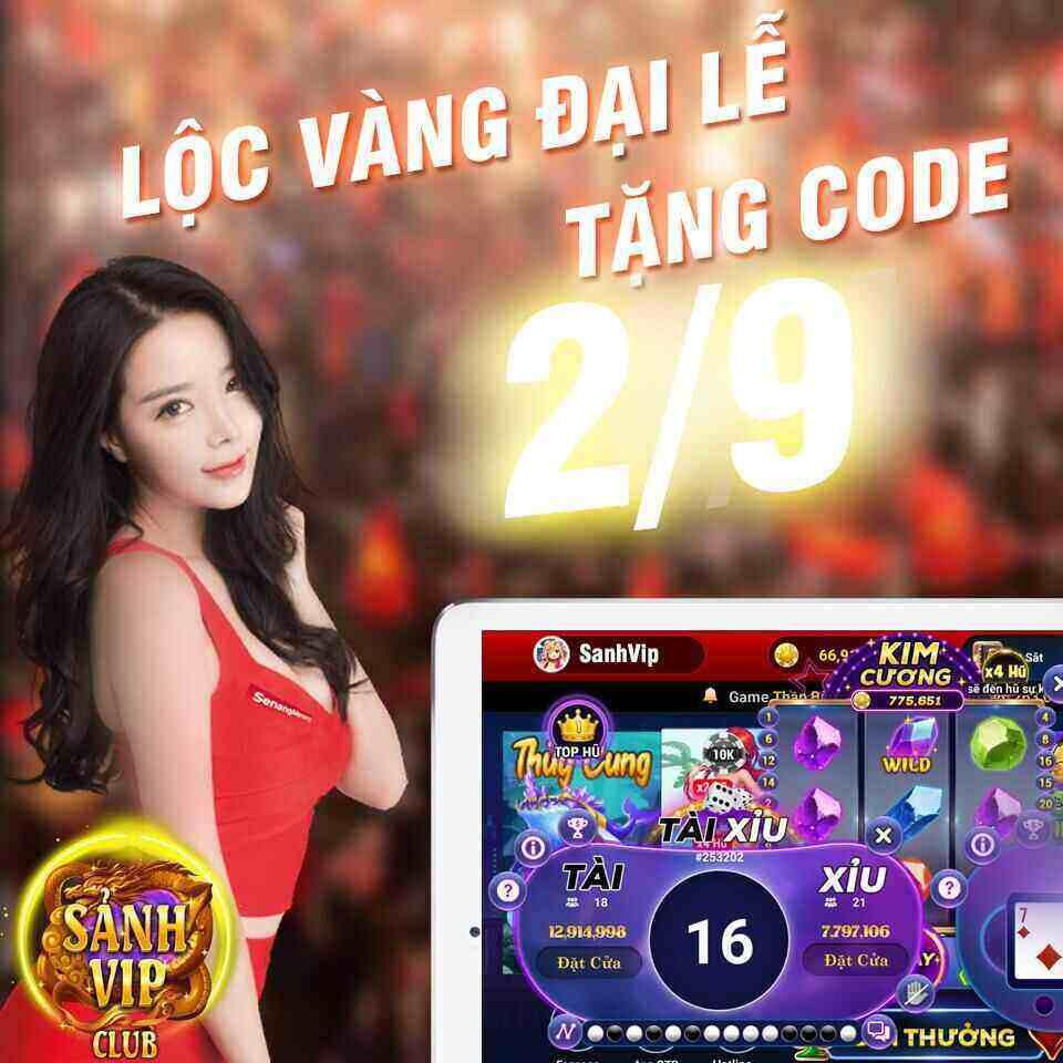 Sảnh Vip Club giftcode game 3/9/2020: Lộc Vàng Đại Lễ – Tặng Code 2/9