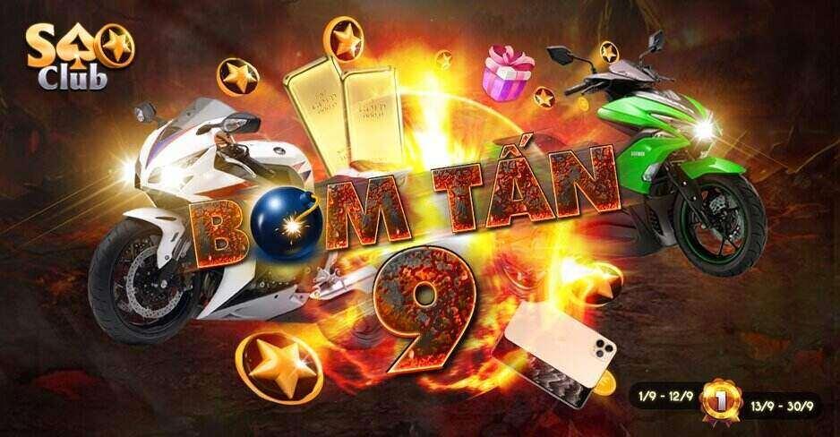 Sao Club giftcode game 2/9/2020: Sự kiện SaoClub bom tấn 9