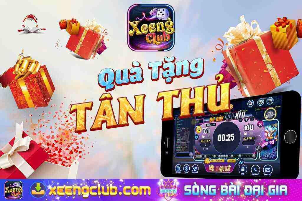 Xeeng Club giftcode game 8/9/2020: Quà tặng cho anh em Tân Thủ