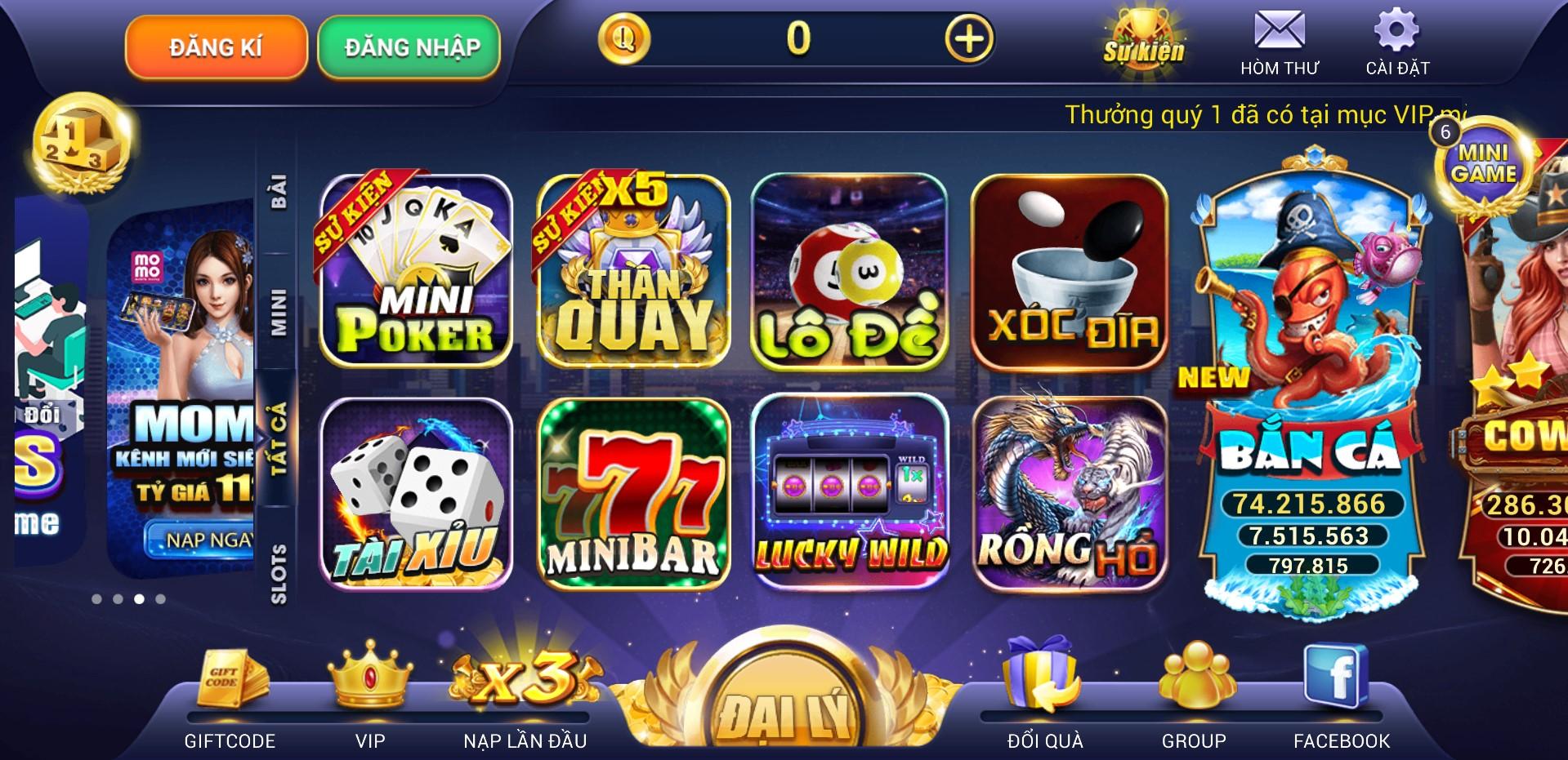 ThanQuay – Vương Quốc Game Bài Đổi Thưởng Độc Bá Số 1 Việt Nam