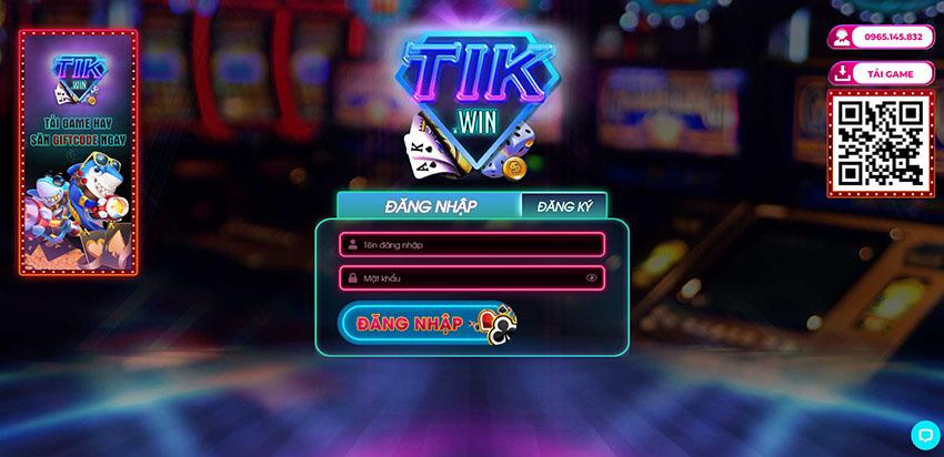 Tik Win – Siêu Phẩm Game Bài Casino Đổi Thưởng Trực Tiếp
