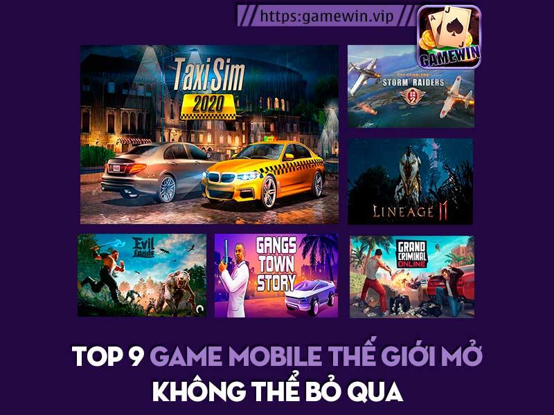 Top 9 game mobile thế giới mở không thể bỏ qua 2020