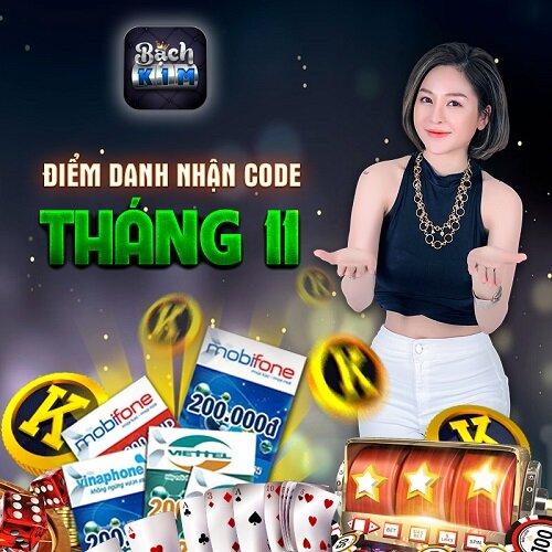 Bạch Kim Club giftcode game 28/11/2020: Điểm danh nhận Code tháng 11