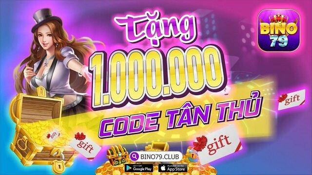 Bino79 Club giftcode game 1/12/2020: Tặng hàng triệu Code Tân Thủ