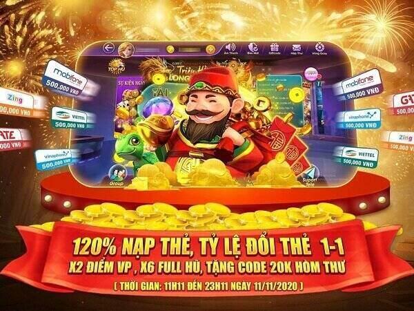 Cổng Game 68 giftcode game 11/11/2020: Chùm sự kiện đặc biệt ngày 11/11