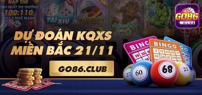Go86 Club giftcode game 21/11/2020: Đoán Xổ Số – Nhận Code Vip