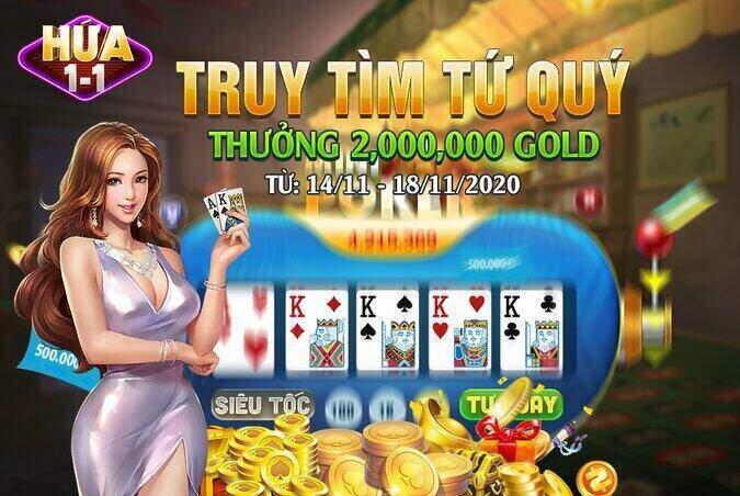 Hứa 11 giftcode game 13/11/2020: Sự kiện truy lùng Tứ Quý