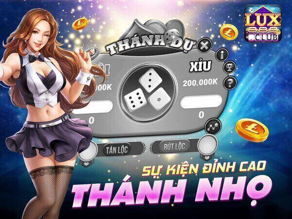 LuxClub giftcode game 14/11/2020: Sự kiện Thánh Nhọ – Tặng 100 lì xì