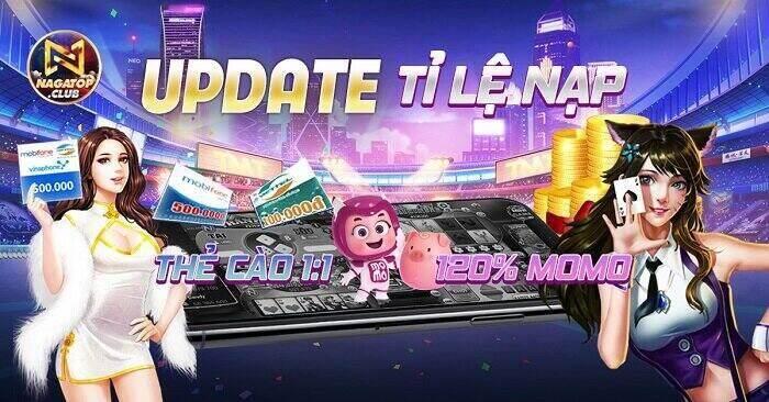 NagaVip Club giftcode game 29/11/2020: Tăng tỷ lệ nạp – Loan tin nhận Code