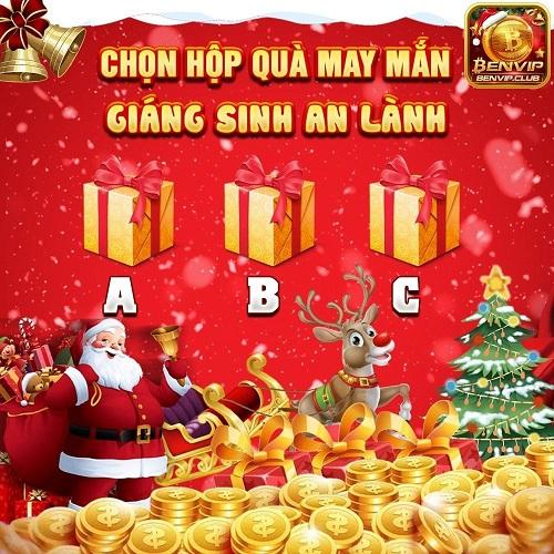 BenVip Club giftcode game 30/12/2020: Chọn quà Giáng Sinh – Rinh ngay Code Vip