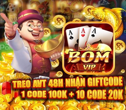 Bom24h giftcode game 30/12/2020: Treo Avatar – Rinh Vip Code 100k