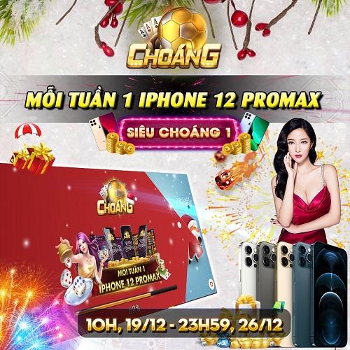 Choáng Club giftcode game 20/12/2020: Sự kiện Siêu Choáng 1 – Tuần 2