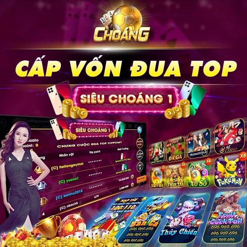 Choáng Club giftcode game 20/12/2020: Cấp vốn đua Top Siêu Choáng 1