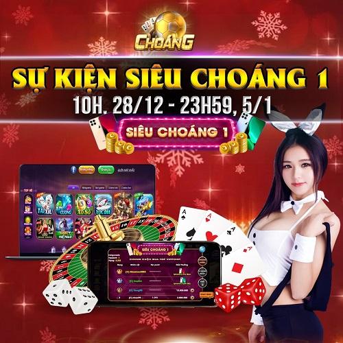 Choáng Club giftcode game 30/12/2020: Sự kiện Siêu Choáng 1 – Tuần 3