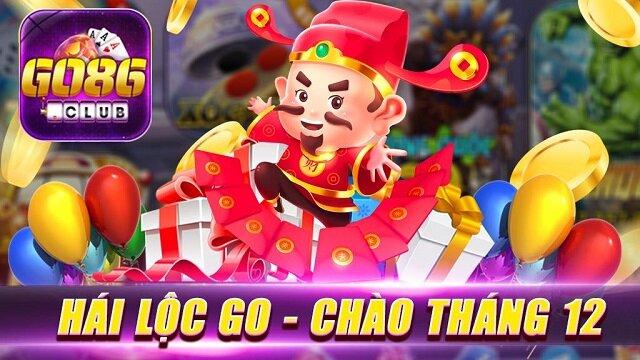 Go86 Club giftcode game 1/12/2020: Hái Lộc Go – Chào Tháng 12