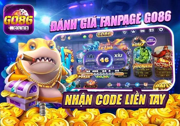 Go86 Club giftcode game 20/12/2020: Page 5 sao – Vác bao nhận Code