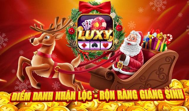 Luxy Club giftcode game 25/12/2020: Điểm danh nhận quà Giáng Sinh