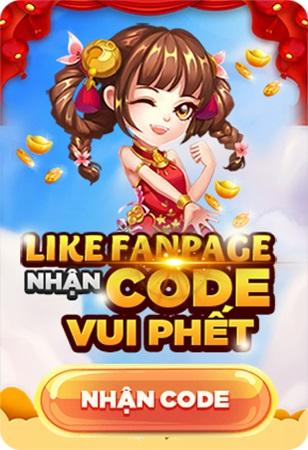 Nổ Hũ 79 giftcode game 20/12/2020: Like page nhận Code