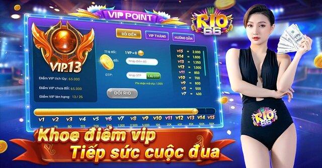 Rio66 Club giftcode game 1/12/2020: Khoe điểm Vip – Nhận Code đua Top