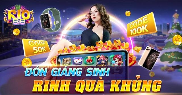 Rio66 Club giftcode game 22/12/2020: Mừng Giáng Sinh – Rinh Quà Khủng