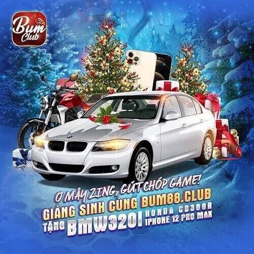 BumVip Club giftcode game 5/12/2020: Giáng Sinh cùng Bum88 – Tặng BMW 320i