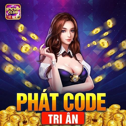 SocVip Club giftcode game 6/1/2020: Phát Code tri ân mừng năm mới